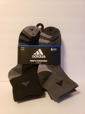 6 Pairs of Socks Adidas for Sale in New Orleans, LA