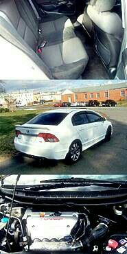 2009 Honda Civic SI White for Sale in Detroit, MI