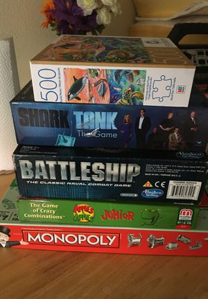 Games and puzzles for Sale in Georgetown, TX