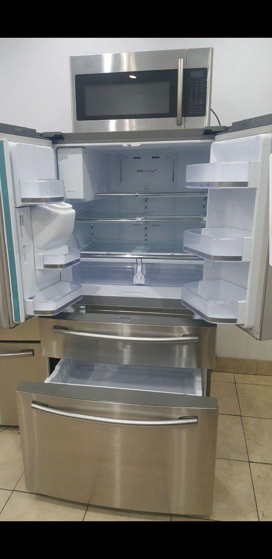 Samsung 4 door fridge