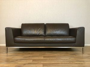 italsofa Tufted Leather Sofa for Sale in Seattle, WA
