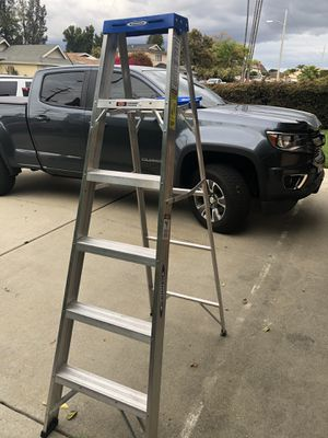 Werner Aluminum 6ft ladder for Sale in Carson, CA