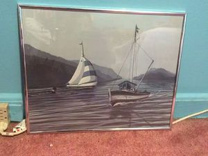 Fishing boat poster for Sale in Baltimore, MD