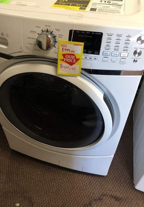 GE Washer 🙈⏰⚡️🍂✔️🔥😀🙈⚡️⚡️🍂✔️🔥😀🙈⏰⚡️🍂✔️ Appliance Liquidation!!!!!!!!!! HWV