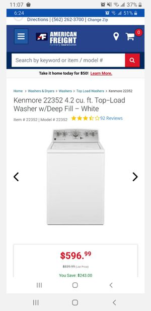 Kenmore washer brand new in Box for Sale in Anaheim, CA