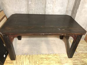 Antique Wooden Table + Chairs for Sale in Cottonwood Heights, UT