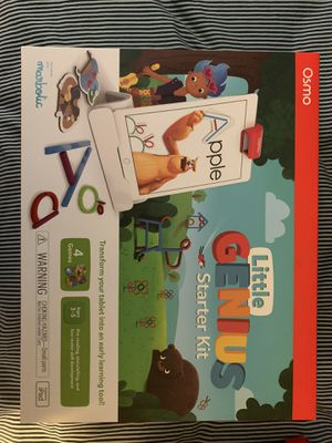 Osmo Little Genius Starter Kit for IPad for Sale in Carol Stream, IL