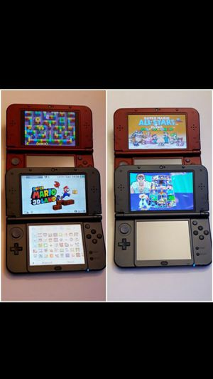 Red / Grey 3DS XL w/ 42 games (and old school) for Sale in La Verne, CA