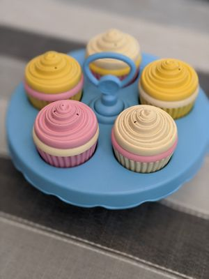 Green Toys Cupcake stacking game for Sale in Tigard, OR