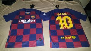 BARCELONA JERSEYS MESSI for Sale in Commerce, CA