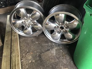 2 chrome rims fits 2002 to 2006 Dodge Ram 1500 for Sale in Nutley, NJ