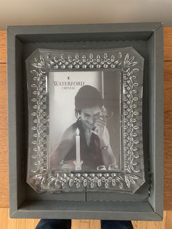 Waterford Crystal 5x7 picture frame for Sale in Reading,  MA
