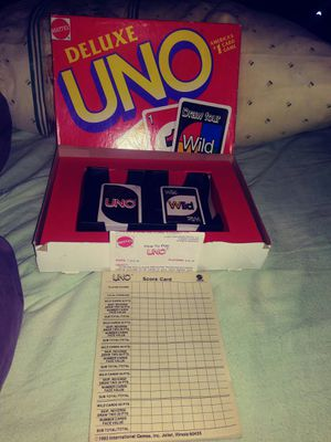 Uno deluxe for Sale in Knoxville, TN