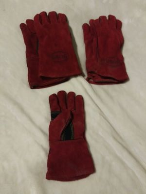 Boss welder gloves and another style of welder gloves for Sale in Stockton, CA