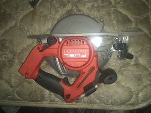 Milwaukee m18 furl circular saw (tool only) for Sale in Lakeside, AZ