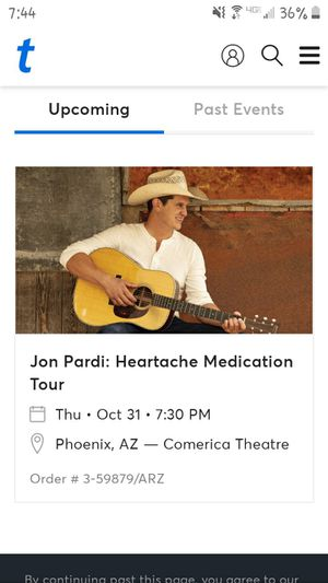 John Pardi tickets for Sale in Phoenix, AZ