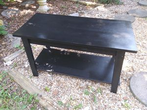 3 feet long black TV STAND CLEAN for Sale in Atlanta, GA