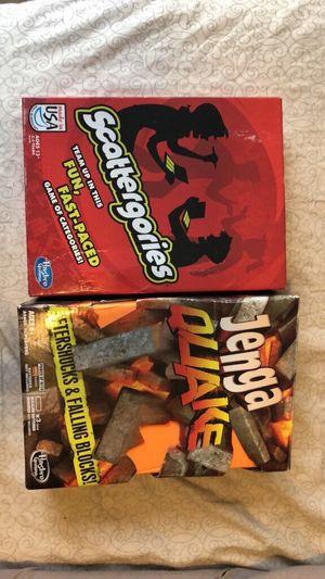 Scattergories & Jenga Quake! for Sale in Abilene, TX