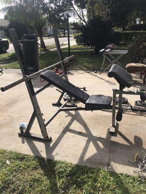 Weider Club Weight bench for Sale in West Palm Beach, FL
