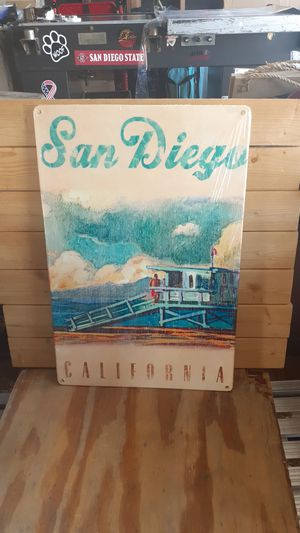 San Diego California lifeguard sign 12 by 18 for Sale in San Diego, CA