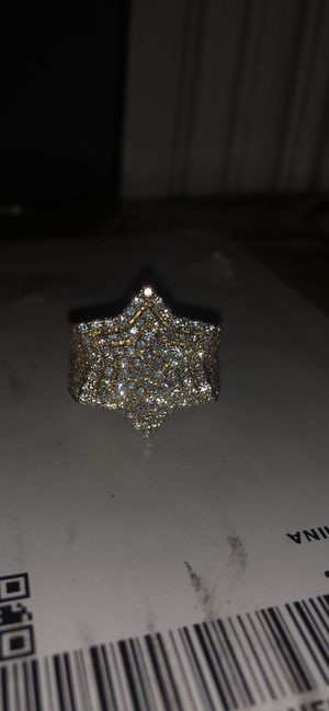 14k vvs diamond ring for Sale in Lawrence, MA