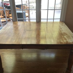 Solid Wood Table Set for Sale in Loganville, GA