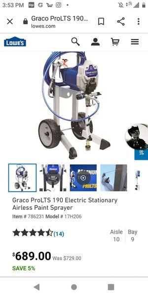 Paint Sprayer airless for Sale in Wichita, KS