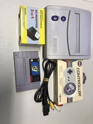 Super Nintendo super Mario world for Sale in Miami, FL
