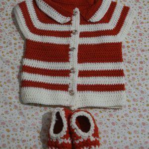 Handmade Crochet Sweater for Sale in Henderson, NV