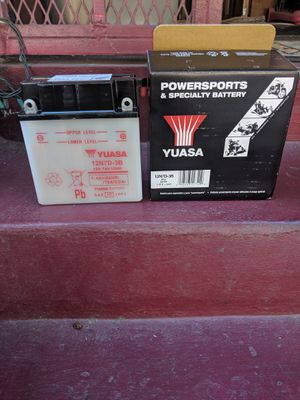 Motorcycle battery Suzuki honda new for Sale in Los Angeles, CA