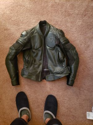 """REV'IT """"AKIRA AIR"""" LEATHER MOTORCYCLE ARMOURED JACKET for Sale in Philadelphia, PA"""