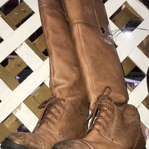 Tan Leather Boots for Sale in Waldorf, MD
