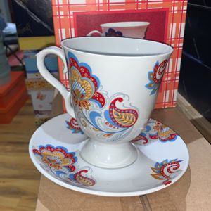 New In Box Tea Set, 2pcs, Saucer and a Cup for Sale in Baltimore, MD