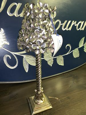 Stainless Steel Flower Lamp for Sale in Tustin, CA