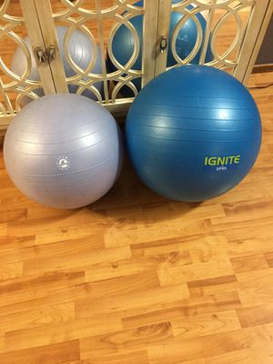 Yoga ball. Large-$10 Small-$5 for Sale in Carmichael, CA