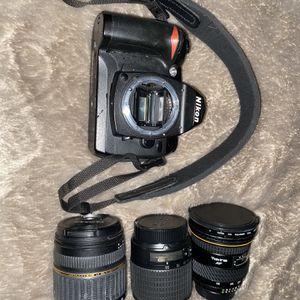 Huge Nikon D70 Bundle for Sale in Kirkland, WA