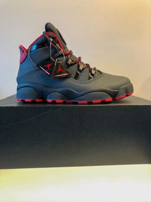 Nike Air Jordan Winterized 6 Rings Gym Black Red (NEW) Size 8 for Sale in Nashville, TN