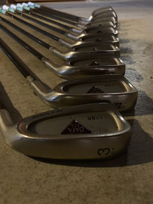 PRGR Data 725 #3-9 P,AW,S Original graphite Golf Clubs for Sale in San Francisco, CA