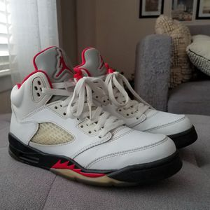 Air Jordan V 5 fire red size 6.5 youth for Sale in Lancaster, CA
