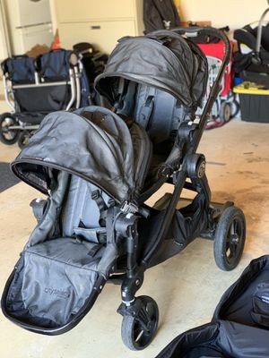 City Select Baby Jogger Double Stroller w/MANY Accessories for Sale in Fairfax Station, VA