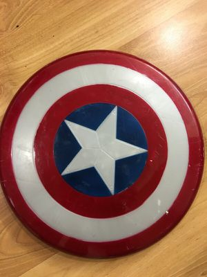 Captain America shield kids size for Halloween for Sale in Centreville, VA