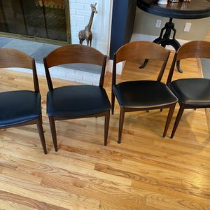 Mid Century Modern Danish Chairs for Sale in Pound Ridge, NY