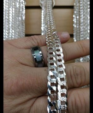 Silver 925 Cuban chain for Sale in Los Angeles, CA