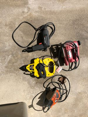 Power tools and 100' tape measure for Sale in Oswego, IL