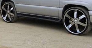 28 inch rims u2 brand new tires for Sale in Burbank, CA
