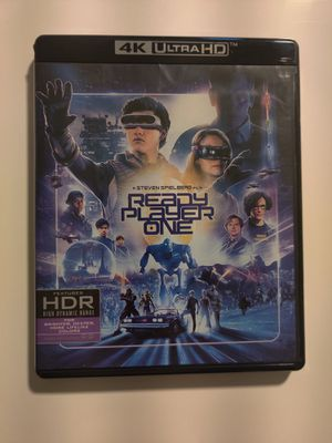 Ready player one 4k blu-ray uhd disc never played no digital for Sale in Sugar Land, TX