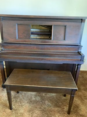 Awesome piano tuned up great condition dad had to move for Sale in Denver, CO