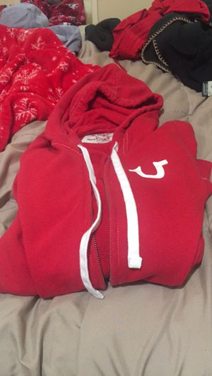True Religion Red hoodie [No Zipper] for Sale in San Francisco, CA
