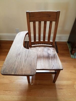 Antique schoolhouse chair for Sale in Lakewood, OH