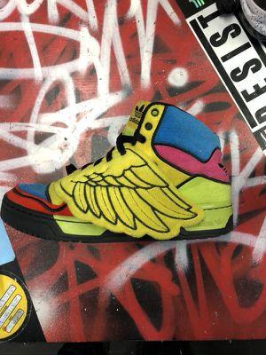 Adidas x Jeremy Scott size 8.5 for Sale in Washington, MD